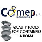 Comep automazioni impianti e macchine per l'industria dell'imballaggio e contenitori in alluminio a Frosinone.
