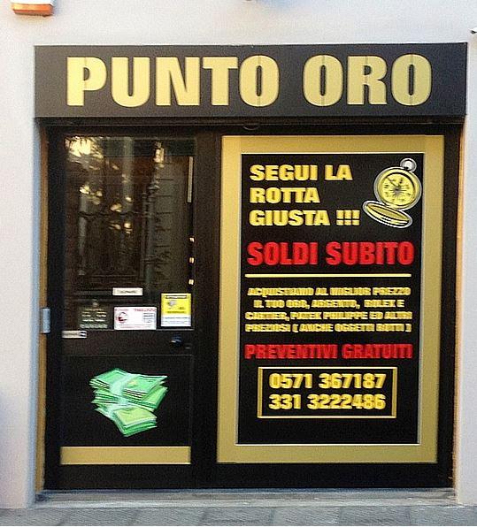 Compro oro Pisa