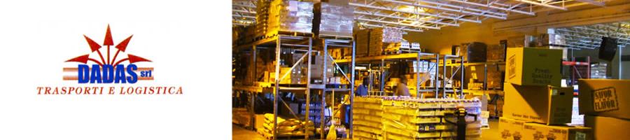 Dadas trasporti e logistica consegne elettrodomestici Pomezia.