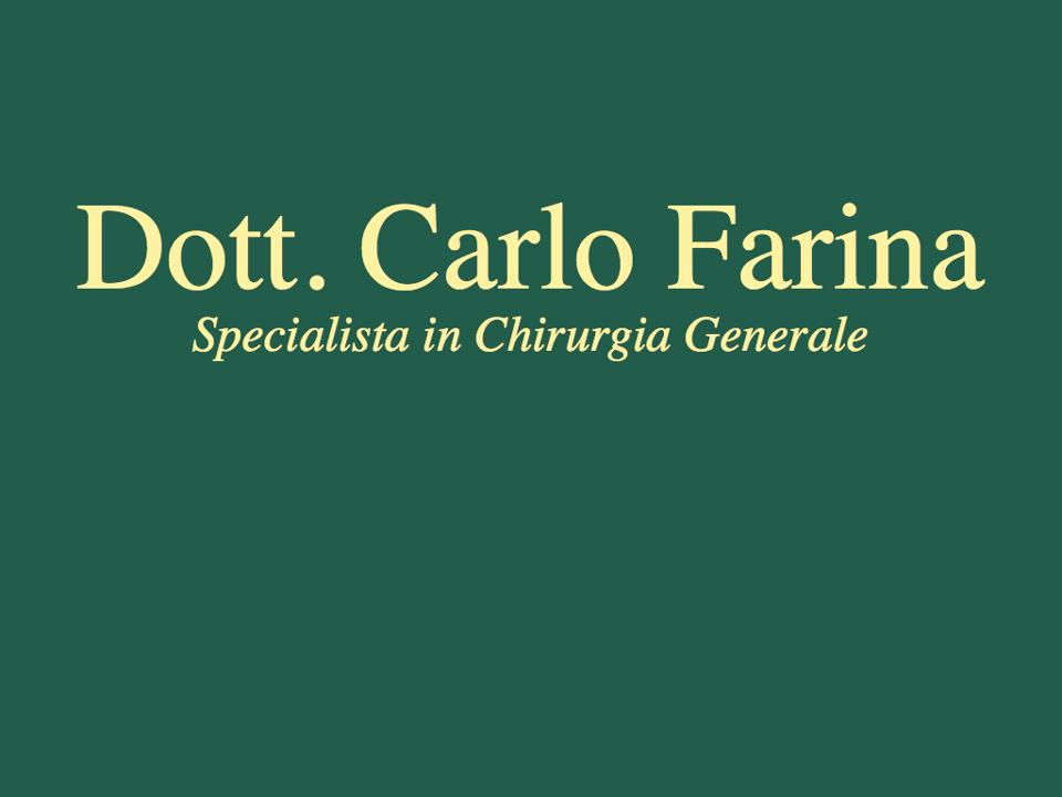 Carlo Farina Chirurgo specialista