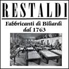Restaldi Store vendita online di biliardi,
